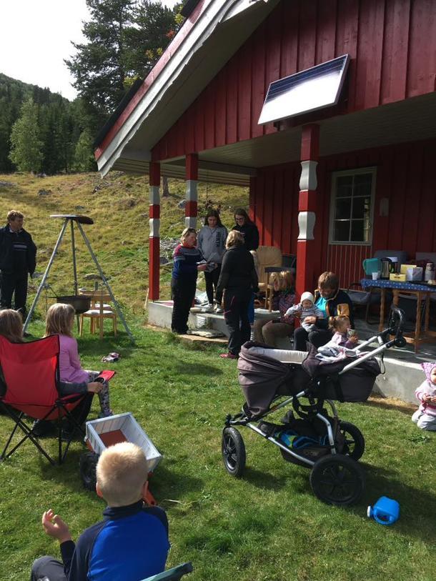 Vang og Vestre Slidre arrangerte stølsdag for familier i sommer. Kultur, næring, servering og sosialt samvær.