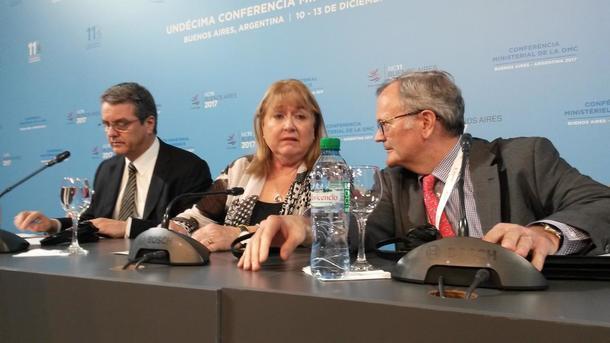 Avslutning ministermøte i WTO 2017