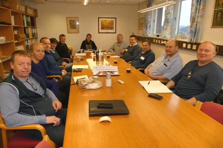 Landbruksorganisasjonar i Rogaland samla til møtet om dyrevelferd.