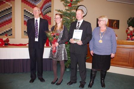 Prisen vart delt ut på Suldal kommune si julesamling.