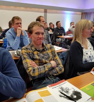 Olav Rognerud fra Østre Toten ble tillitsvalgt først og fremst fordi han ble spurt! Det er interessant og lærerikt, sier han.