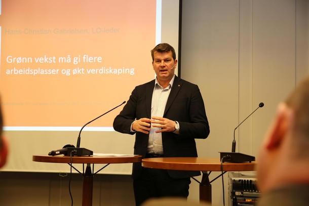 Hans-Christian Gabrielsen, frokostseminar 9. februar 2018