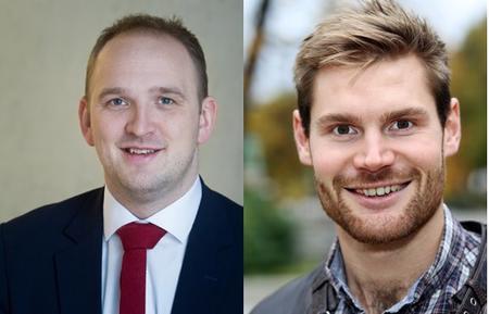 Jon Georg Dale og Nils Kristen Sandtrøen