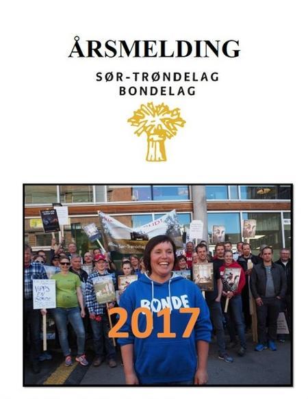 Forside årsmelding ST Bondelag 2017