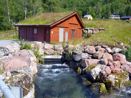 Hopedal kraftvært i Fjærland