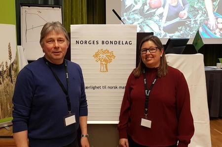 Svein Olav Thomassen og Kristina Hegge
