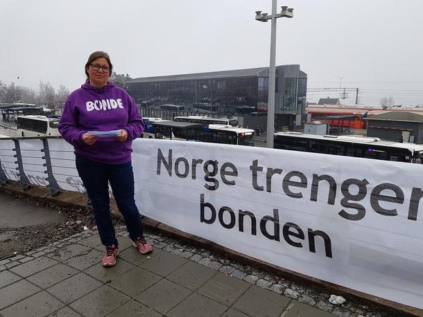 Ingen tvil om at Norge trenger bonden, både i krisesituasjoner og ellers, sier Kristina Hegge