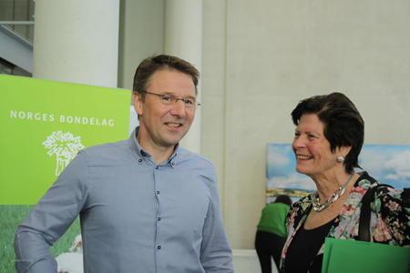 Lars Petter Bartnes og Merete Furuberg