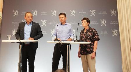 Jon Georg Dale, Lars Petter Bartnes, Merete Furuberg.