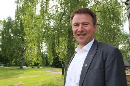 Lars Petter Bartnes, leder i Norges Bondelag på årsmøte 2018