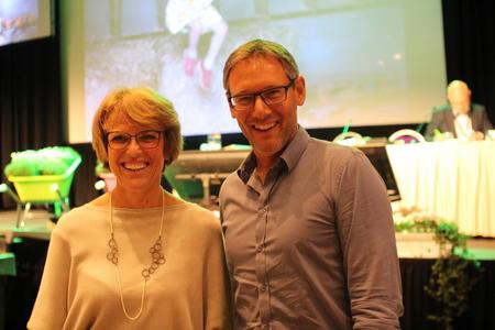 Hanne Refsholt og Arne Kolberg
