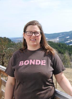 Kristina Hegge, leder i Oppland Bondelag