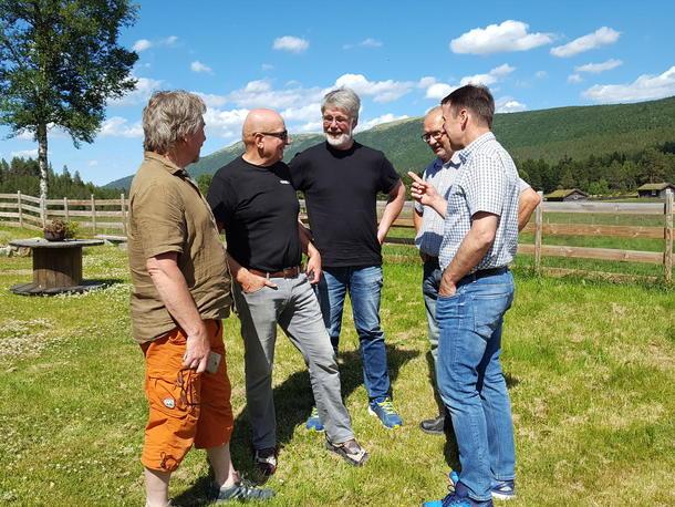 Møte med beitebrukere i Nord-Østerdal