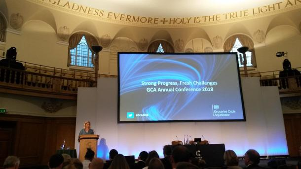 Christine Tacon, handelsombud i Storbritannia