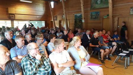 Informasjonsmøte på Ruste 6.juli