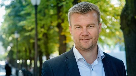 Ole Laurits Lønnum, konsernsjef i Landkreditt