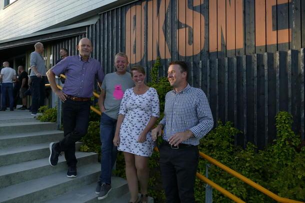 Innleiarane - frå venstre: Geir Heggheim, Norsvin, Per Inge Egeland, Norsvin Rogaland, Marit Epletveit, Rogaland Bondelag, Lars Petter Bartnes, Noregs Bondelag.