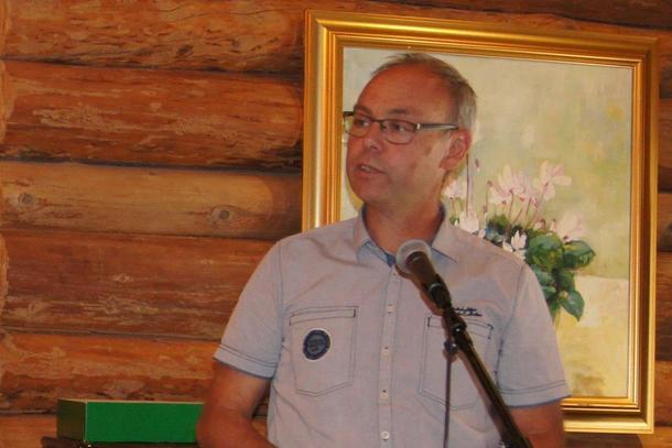 Grøntmøtet samlet nær 100 deltagere, og Sigurd Enger fra Akershus Bondelag ledet samlingen.
