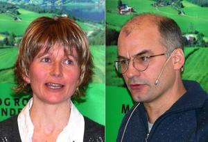 Rådgiver Rose Bergslid og organisasjonssjef Arnar Lyche i Møre og Romsdal Bondelag