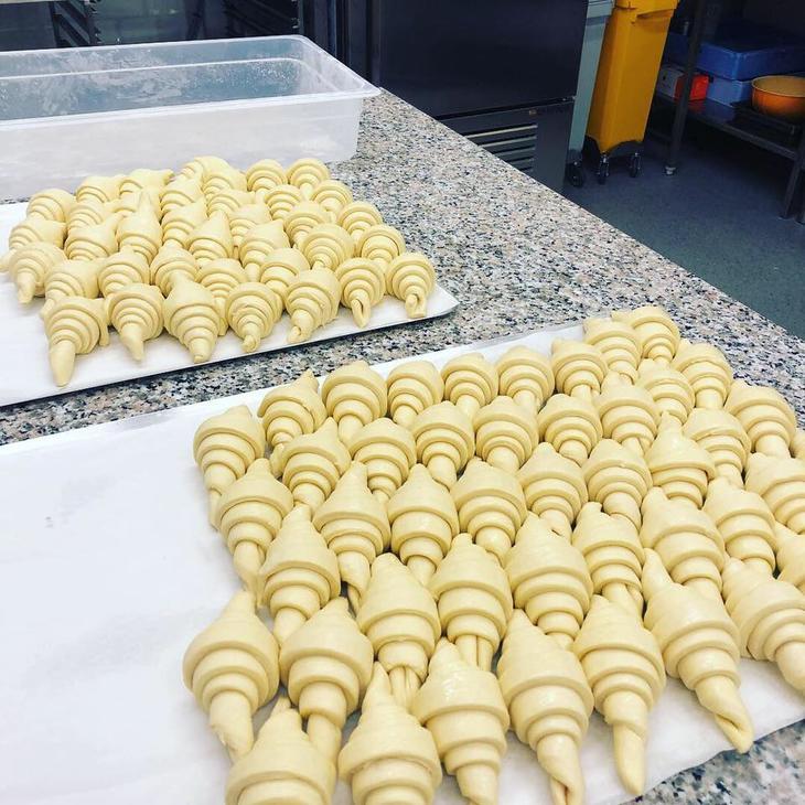 Croissanter fra Moulangerie Mo gård i Melhus