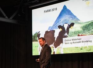 Fylkesleder i Møre og Romsdal Bondelag, Oddvar Mikkelsen (Foto: Momentium/Georgi Nikolov)
