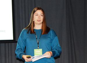 Fagsjef Helene Lillekvelland i Norsk landbrukssamvirke (Foto: Arild Erlien)
