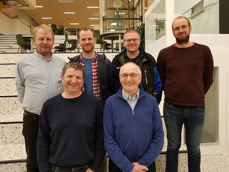 Styret i Voss Bondelag: Lars Bø, Knut Gjøstein, Rune Gjeraker, Olav  Dugstad, Ove Neteland (nestleiar) og Lars Istad (leiar).