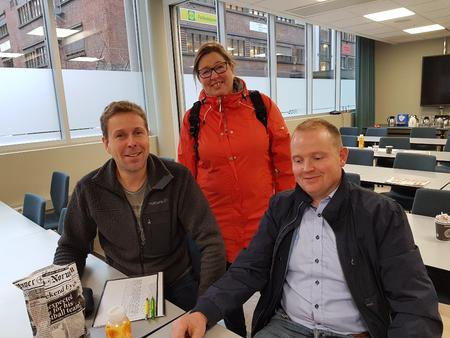 Anders Formo, Kristina Hegge og Ole Bjørner Flittie