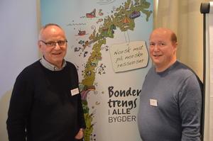 Forelesere om bokføringsregelverket i en elektronisk hverdag var Jon Baggetorp (t.v.) fra Spydeberg Regnskapslag SA og Terje Sundt fra Duett AS.