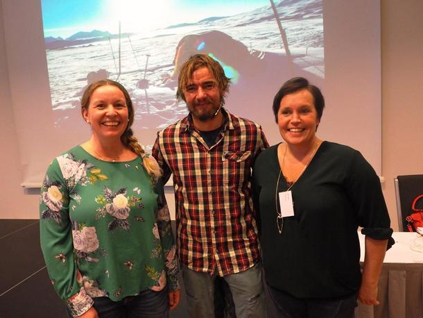 Borgny K Grande, Jens Kvernmo og Kari Åker