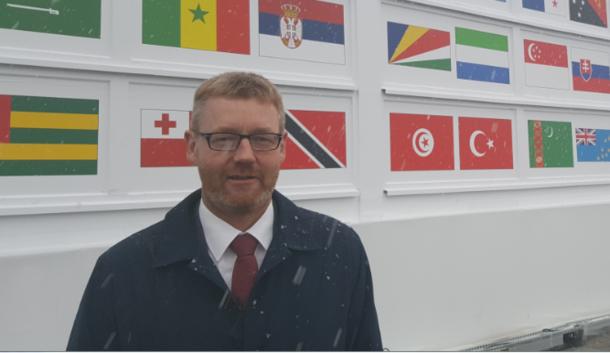 Bjørn Gimming på COP24 i Katowice