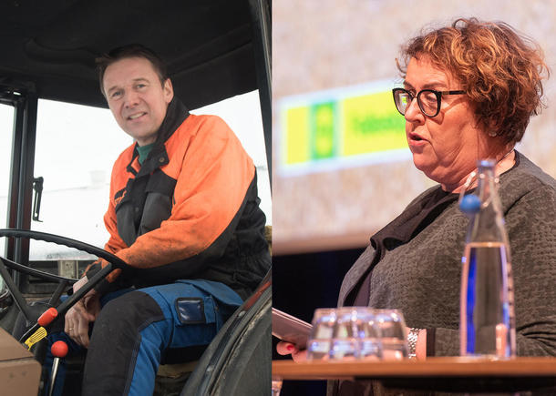 Lars Petter Bartnes og Olaug Bollestad