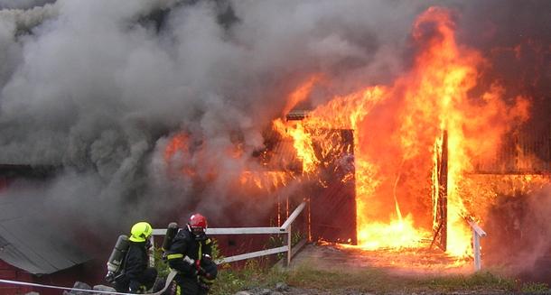 Brann i landbruket