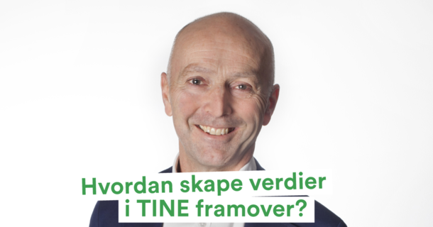 Gunnar Hovland, konsernsjef i TINE