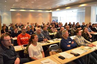 Frå fylkesårsmøtet i Møre og Romsdal Bondelag i Molde 9. mars (Foto: Arild Erlien)