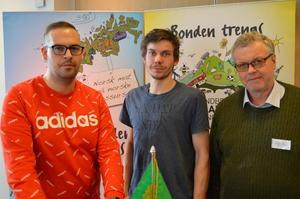 Lokallagslederne Ørjan Stenerud, Giske, Martin Vågsæter, Stranda og Endre Stener, Rauma.