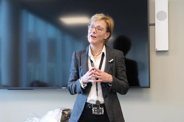 Generalsekretær Sigrid Hjørnegård