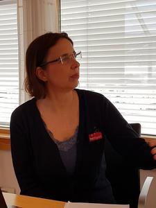Anne Andberg fra Mattilsynet