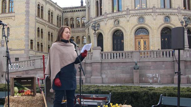 Ordfører i Sømna, Andrine S. Oppegaard (Ap)