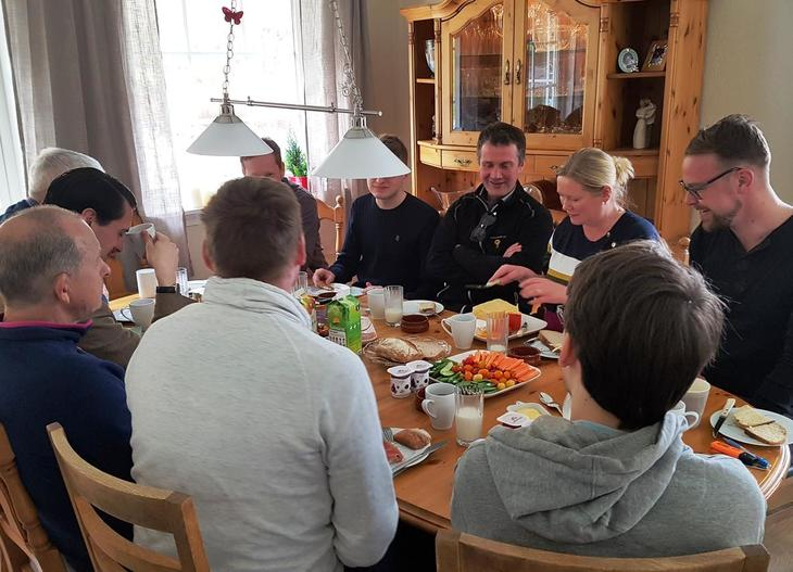 Vår nyvalgte fylkesleder, Peder Nernæs, ga politikerne innspill om vestlandslandbruket
