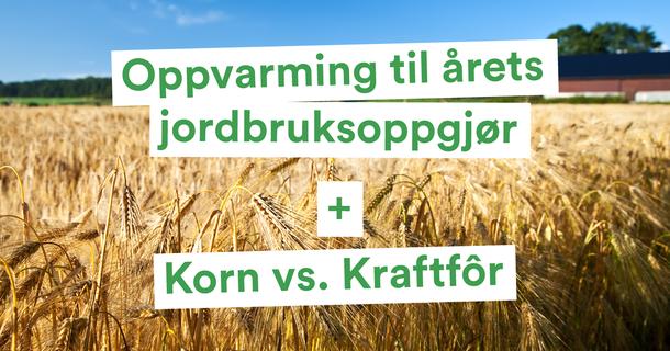 oppvarming til årets jordbruksoppgjør