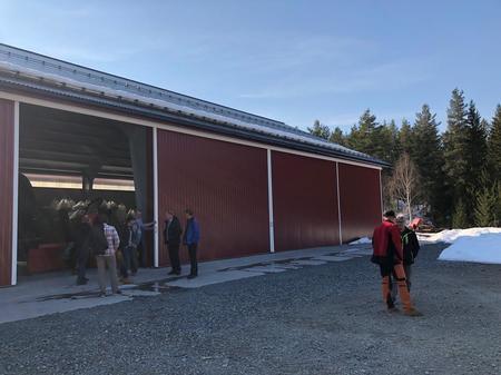 Maskinlager på Nordre Bjøre gård