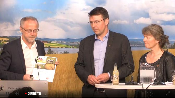 Overlevering av krav i jordbruksoppgjøret 2019