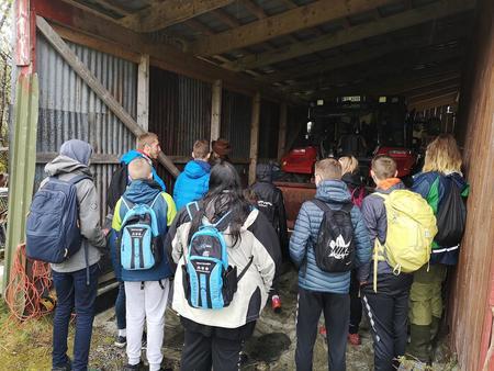 Gardsbesøk i Fjærland