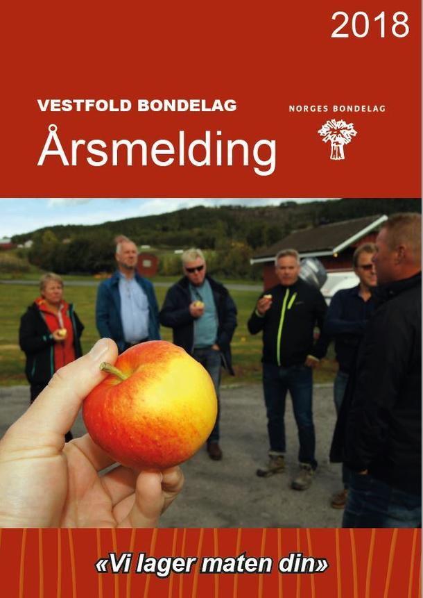 Vestfold Bondelags årsmelding 2018