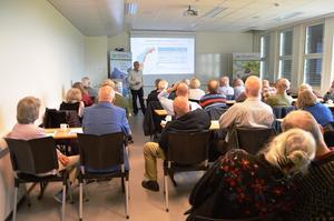 Et 50-talls tilhørere hadde funnet veien til jordvernsamlinga på Gjermundnes.