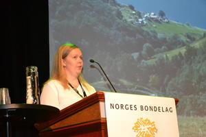 Styremedlem i Møre og Romsdal Bondelag, Hilde Kjersem Kolberg (Foto: Arnar Lyche)