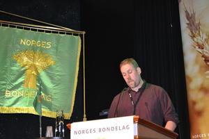 Fylkesleiar i Møre og Romsdal Bondelag, Konrad Kongshaug (Foto: Arnar Lyche)