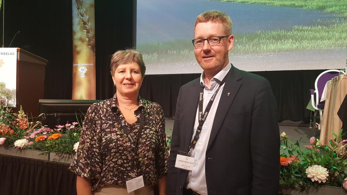 Martha Mjølnerød og Bjørn Gimming