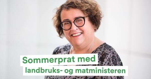 Landbruks- og matminister Olaug Bollestad